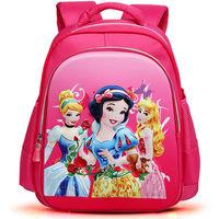 2014 Hot Cartoon Schoolbag for Girls Princess printed school bag Primary Scholar satchel High quality school backpack