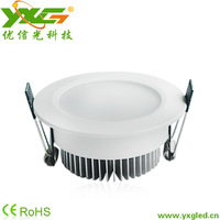High quality Led light fixture Aluminum 7w 110V 220V warm cool white surface mounted led ceiling lights for living room