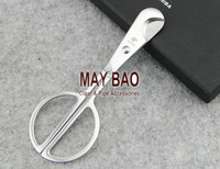 MAYBAO Long Stainless Steel Cigar Cutter With Gift Box Cigar Scissors 1 pc/lot JT-190D