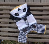New Design Dog clothes Pet Clothing Panda Cartoon Costume Dog Coat Warm Winter for Chihuahua Yorkshire Pitbull Poodle dog