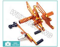 Adjustable Rearsets For HONDA CBR1000RR ABS CBR 1000 RR 09 10 11 12 2009 2010 2011 2012 CNC Billet Footpegs Foot Rear set Gold