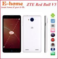 "In stock! Original zte red bull v5 GSM MSM8926 Quad Core Dual SIM 5""TFT  Smart Phone 2GB Ram 13.0MP Camera 8GB Rom"