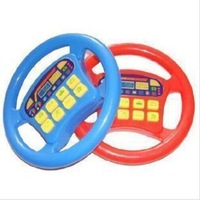 new steering wheel toy Infant artificial music electronic toys Various pronunciation Baby Educational toys