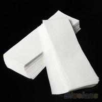 100 pcs Hair Removal Depilatory paper Nonwoven Epilator Wax Strip Paper Roll Waxing  06MK