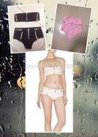 2014 Sexy green red sky blue white pink black with zippers hl bandage Bikini Women slim REINS sand beach swimwear swimsuit