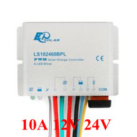 10A LS102460BPL IP67 Waterproof EP Landstar Solar Charge controller with LED Driver 12V 30W 24V 60W 10amps battery regulator