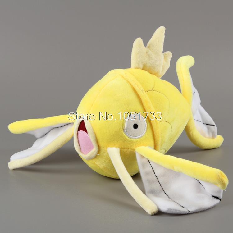 "Anime Cartoon Pokemon Magikarp Plush Toy Soft Stuffed Doll Animal Fish Plush Doll 9"" 24CM Free Shipping ANPT232(China (Mainland))"
