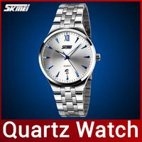 New 2014 Fashion Brand Men Steel Dress Watch Quartz Watch For Men Full Steel Watch Luminous Display Casual Wristwatch Waterproof