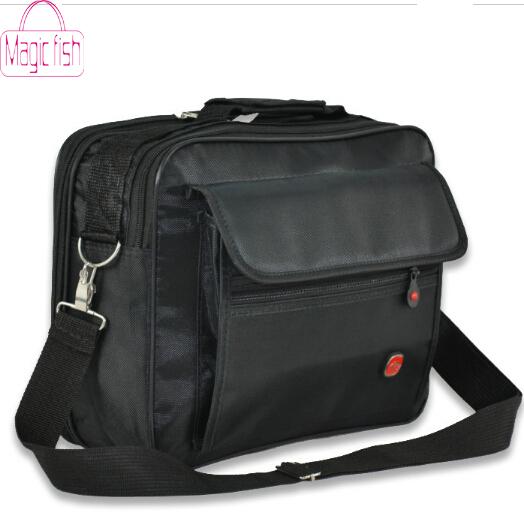 Magic Fish! 2014 new on sale nylon handbag men messenger bags Outdoor laptop brand vintage shoulder men's travel bag LM0058(China (Mainland))