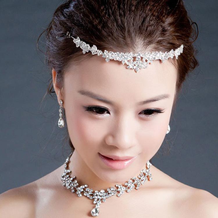 Luxury Classic Bride Rhinestone crystal Bridal Hair Crown Bridal Hair Crown Tiara Wedding Jewelry Accessories(China (Mainland))