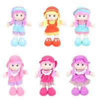 Genniue Baby fairy Princess plush doll toy, fashion grils Ragdoll gift, 6 styles + free shipping