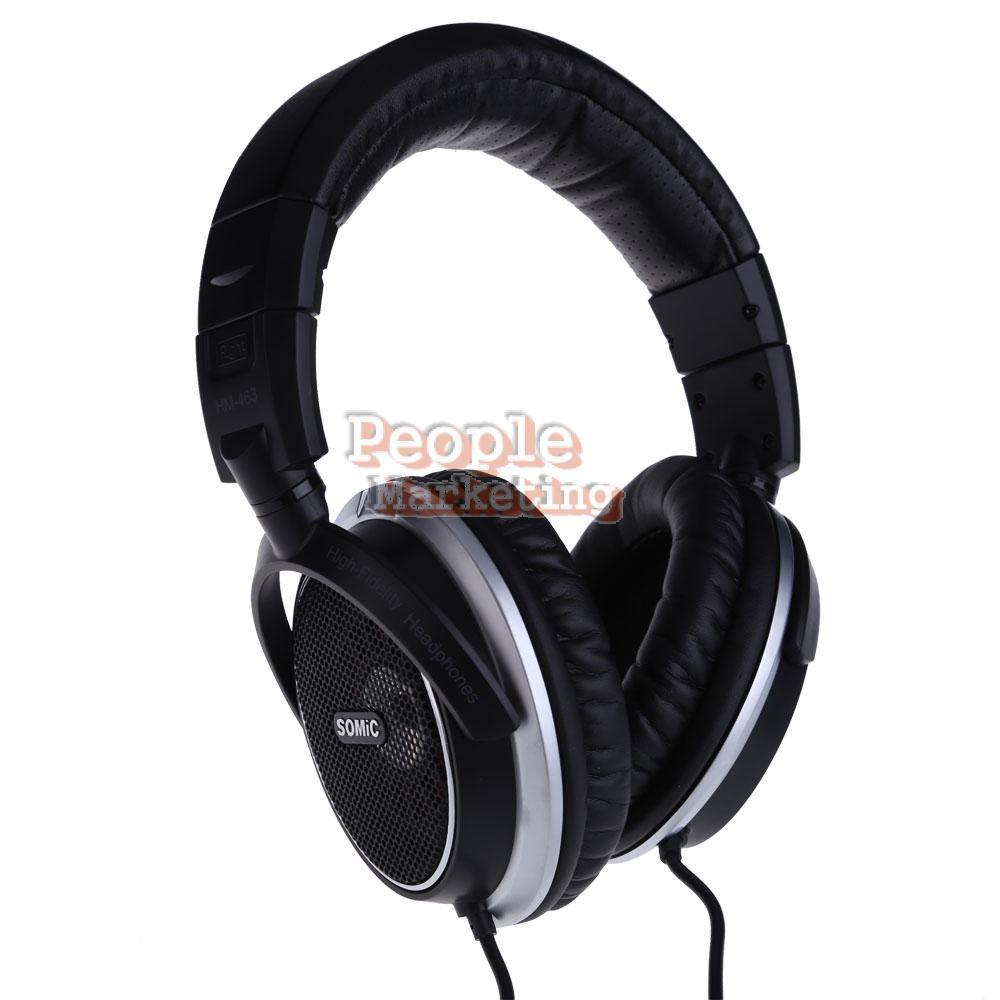 Somic MH463 Over-Ear Hi-F Open-air Dynamic DJ Stereo Headphone Headset P4PM(China (Mainland))