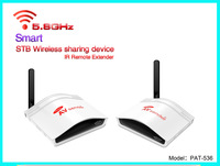 PAT536 Smart 5.8G STB Wireless Sharing Device/200M  Support  8 groups of selectable AV channels