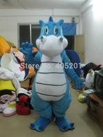 POLYFOAM high quality costume blue dragon mascot costume dinosaur