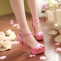 Free Shipping Hot Sale Women Fashion Sandals High Sandals 5 Colors Sexy Ladies Sandals WF018
