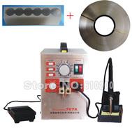 Fee shipping 707A 18650 Precision Pulse Spot Welder welder spot welding machine  & Soldering Station + 5mm1kg nickel + Fixture