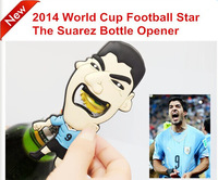 Hot! New Arrival Luis Alberto Suarez Bottle Opener in World Cup With Vivid Bite Image