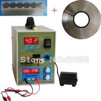 2 in1 Micro-computer MCU Spot Welder Battery Welder Spot & Digital Battery Charger+5mm 1KG Nickel sheet +18650 Battery Fixture