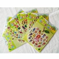 140SHEETS/LOT.Apple design stickers,Wall sticker.Mobile stickers.Fridge sticker.Kids party favor,Kindergarten gifts,10 design.