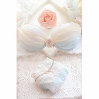 сладкие конфеты цвет регулируемый рябить сексуальные push up бюстгальтер молодая девушка женского белья набор