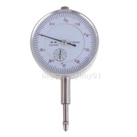 Dial Indicator Gauge 0-10mm Meter Precise 0.01Resolution Concentricity Test H1E1
