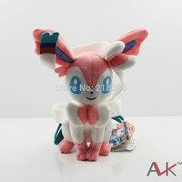 2014 real minions pepa pocoyo for takaratomy pokemon plush best for wishes doll - n-50 sylveon / nymphia cute for kids gift toys