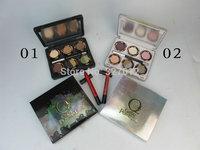 2PCS/LOT 2014 New Brand Nake Eyeshadow Palette Mix Makeup Beauty Cosmetics OZ GREAT POWERFUL Dropshipping