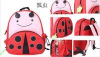 Children schoolbag child cartoon animal backpack  children's cartoon print shoulders bag for kids boys and girls  school bags