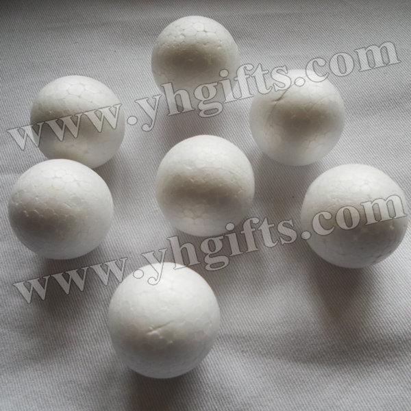 100PCS/LOT,3cm polystyrene balls,Foam ball,Craft material,Wedding ornament,Doll head.DIY accessories,Early educational toys.(China (Mainland))