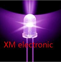 Free shipping 1000pcs 5mm led Purple light bulbs / 5MM Purple Colour LED emitting diode F5mm Purple LED
