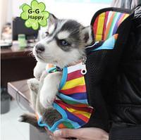 Kangaroo zeze pet bag portable pet chest pack cat dog cross-body backpack free shipping+gifts
