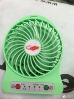 Mini portable handheld small fan USB lithium battery charging small fan 1pices  Free shipping