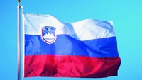 Free Shipping  NEW 100% 100D Polyester Fly  Printed 96x144 cm (5x3)ft Large Slovenia National Flag for Mixed
