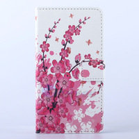 Plum Blossom Zebra Meteor Butterfly Flip Leather Stand Wallet Case Cover For HUAWEI ASCEND G510 Mobile Phone Bag Free Shipping