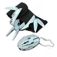 Free Shipping New Mini Pocket Metal Multi Tool Pliers Knife Screwdriver