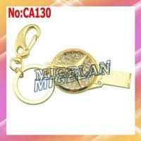 2014 Top Fasion Stock Metal Jewelry Car Key USB Flash Memory Pen Drive U Disk Free Shipping Pendrive 64GB with Key Chain #CA142