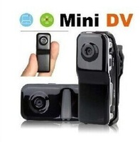 Sports Video Camera Mini DVR & Mini DV ,HD 720*480 Smallest Mini Camera Sports Easy Take MD80+Bracket+Clip DV Drop Shipping