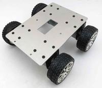 37mm aluminum car / robot line patrol car / smart car chassis