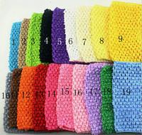 New Arrival 14cm X 15cm Baby Girl Crochet Tutu Tube Tops Chest Wrap Wide Crochet headbands accessories Free Shipping 6pcs/lot