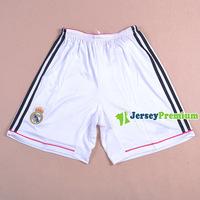 REAL MADRID Home White Away Pink Soccer Shorts 2014-2015 Top Quality Football Jersey Free Printing Free HONGKONG POST Shipping