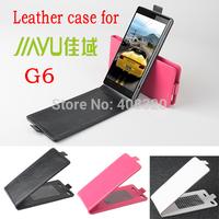 Hot !!! Original Up-Down Flip PU Leather Case For Jiayu G6, Free Shipping