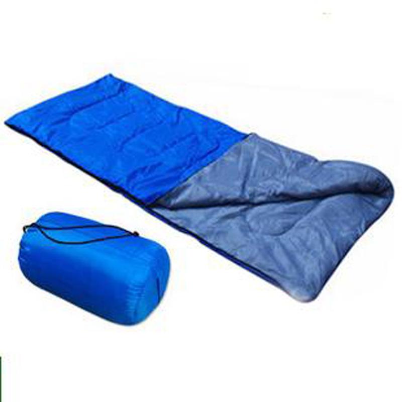 Free PP Supply of ultra-thin summer sleeping bags outdoor camping sleeping bag envelope style sleeping bag(China (Mainland))
