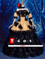 New High quality Vocaloid Court dress anime cosplay costume