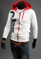Free Shipping 2014/7/3 New Arrival Autumn Cotton Korea Style Slim Casual Men's Hoody Size M/L/XL/XXL/XXXL/4XL#529