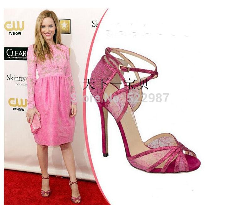 Women Purple Lace Shoes
