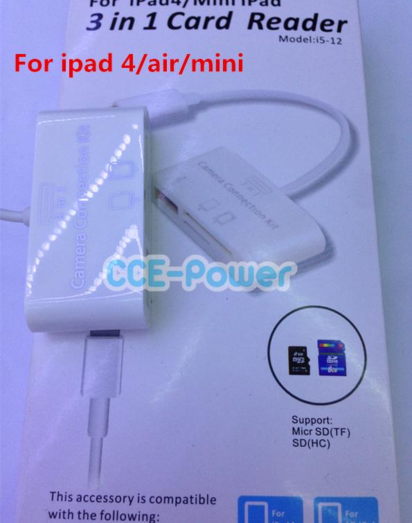 Кардридер CCE-Power 3 1 /ipad Air 4 for ipad 4/air/mini ipad 3 купить киев бу