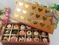 Hot seling 18color bottom lovely cupcake gift Makeup Lip Balm gloss 1.8g.free shipping(18pcs/ lot)