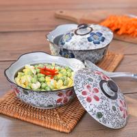 Ndp soup bowl tureen ceramic japanese style dinnerware bowl set porcelain gift+Free shipping