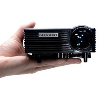 Geekwire LP-5A LCD 400 Lumens Home LED Projector 20~120 Inch Display Size Support HDMI/VAG/USB/AV/SD (EU Plug)