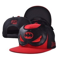 2014 fashion adult men women hero bat man hats caps visor 1pcs AH026R